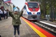 Детская железная дорога –  сезон открыт